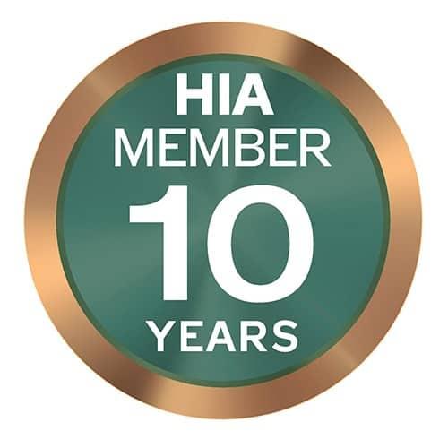 HIA member 10years 500x500