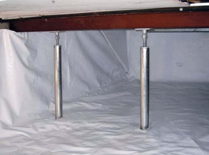 house requiring foundation repairs