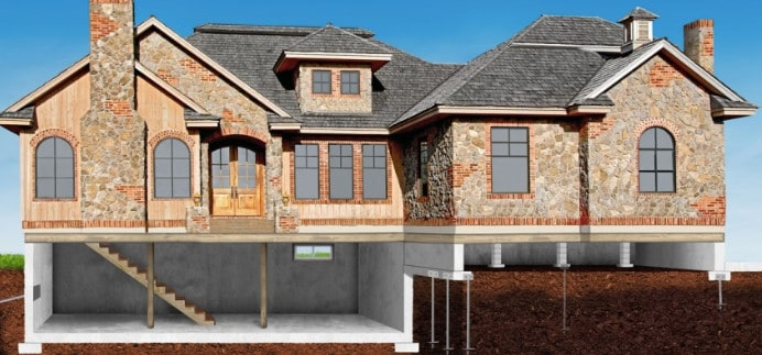 house relevelling and underpinning